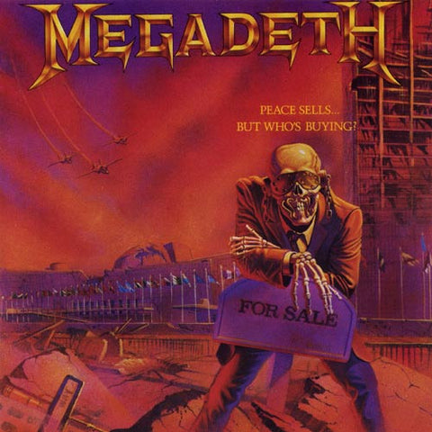 Megadeth | Peace Sells... but Who's Buying? | 180g Vinyl LP (Limited Edition)
