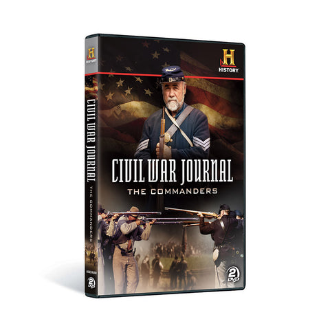 History Store | Civil War Journal: The Commanders | DVD