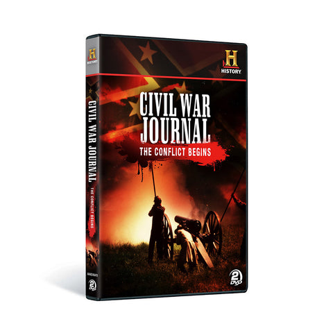 History Store | Civil War Journal: The Conflict Begins | DVD