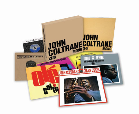 "John Coltrane | The Atlantic Years (In Mono) | 6LP 180g Vinyl Box Set + 7"" Single"