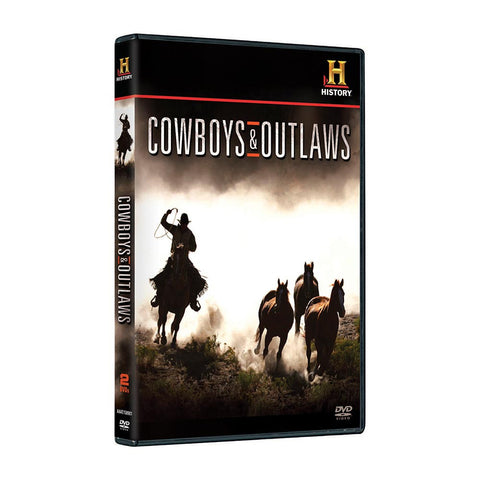 History Store | Cowboys & Outlaws | DVD