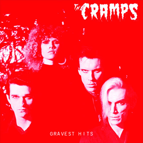 The Cramps | Gravest Hits | 180g Red Colored Vinyl