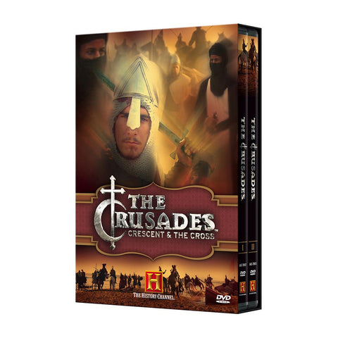 History Store | The Crusades: Crescent & the Cross | DVD