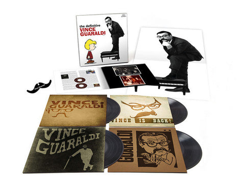 Vince Guaraldi | The Definitive Vince Guaraldi | 4 LP Vinyl Box Set