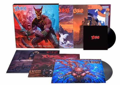 "Dio | A Decade of Dio: 1983-1993 | 180g 6LP Box Set w/ 7"" vinyl single"