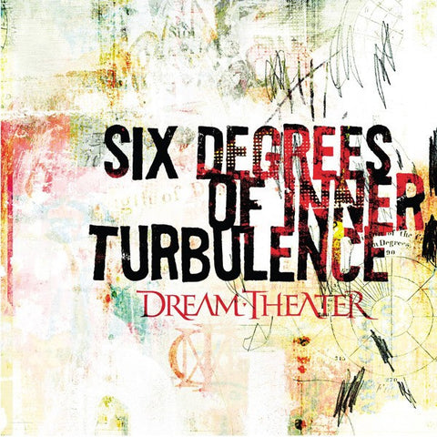 Dream Theater | Six Degrees of Inner Turbulence [Import] | 180g Vinyl 2LP