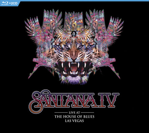 Santana | Santana IV Live at The House of Blues Las Vegas | Multiple Formats