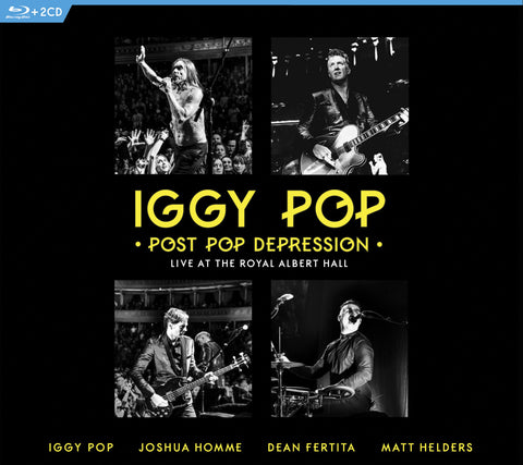 Iggy Pop | Post Pop Depression Live at the Royal Albert Hall | Multiple Formats