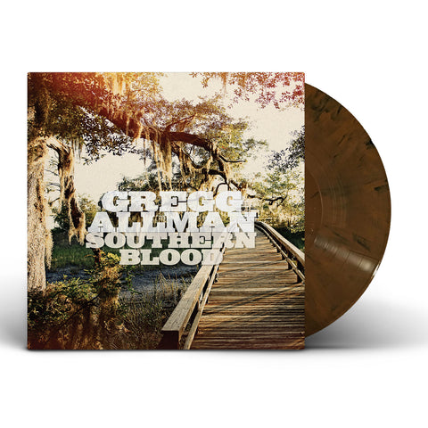 Gregg Allman | Southern Blood | Limited Edition Hardwood Colored Vinyl LP