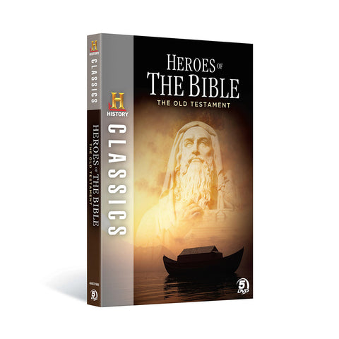 History Store | History Classics: Heroes of the Bible - The Old Testament | DVD