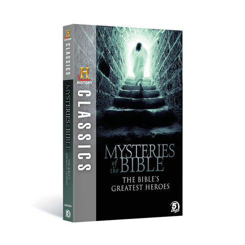 History Store | History Classics: Mysteries of the Bible - The Bible's Greatest Heroes | DVD