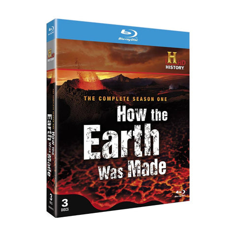 History Store | How the Earth Was Made (Season 1) | Blu-ray