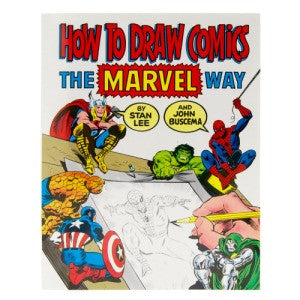 Stan Lee | How to Draw Comics the Marvel Way | Book