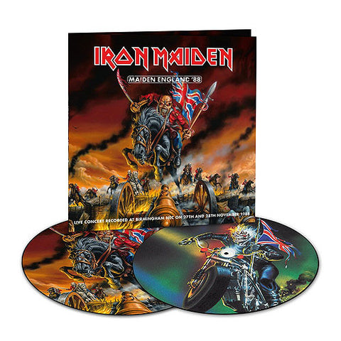 Iron Maiden | Maiden England '88 | Limited Edition Picture Disc Vinyl 2LP