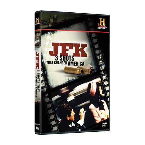 History Store | JFK: 3 Shots That Changed America | DVD