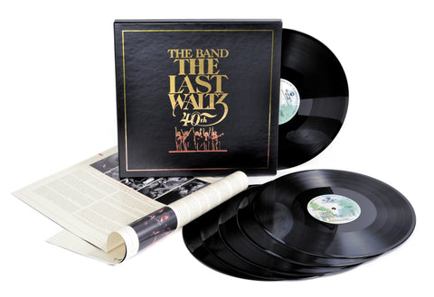 The Band | The Last Waltz: 40th Anniversary Edition | 180g 6LP Vinyl Box Set