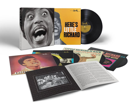 Little Richard | Mono Box: The Complete Specialty And Vee-Jay Albums | 5LP Vinyl Box Set