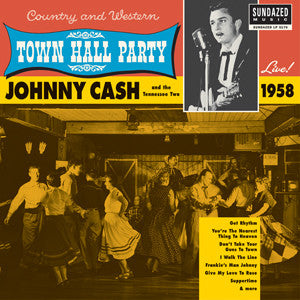 Johnny Cash | Live at Town Hall Party 1958 | 180g Vinyl LP