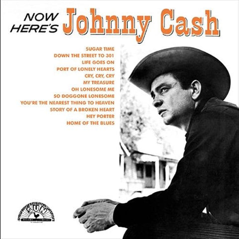 Johnny Cash | Now Here's Johnny Cash | 180g Vinyl LP