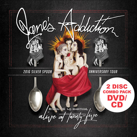 Jane's Addiction | Ritual De Lo Habitual: Alive At 25 | 2-CD/DVD Set