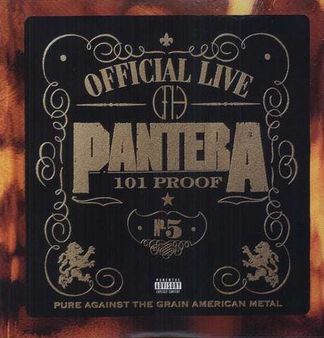 Pantera | Official Live [Import] | 2 180g Vinyl LP