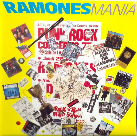Ramones | Ramones Mania (Best of the Ramones) | 180g Vinyl LP (Limited Edition)