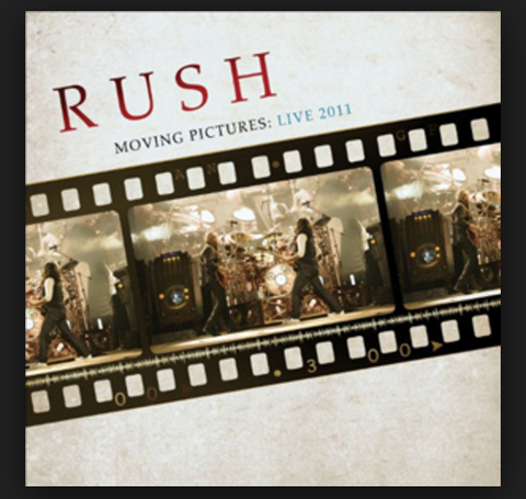 Rush | Moving Pictures: Live 2011 | 180g Vinyl LP