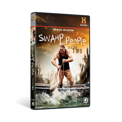 History Store | Swamp People (Season 2) | DVD