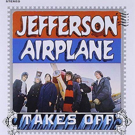 Jefferson Airplane | Takes Off | Limited Edition Translucent Blue 180g Vinyl LP