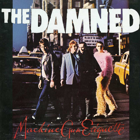 The Damned | Machine Gun Etiquette | Limited Edition 150g Red LP