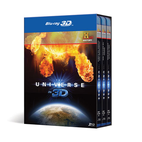 History Store | The Universe in 3D | Blu-ray