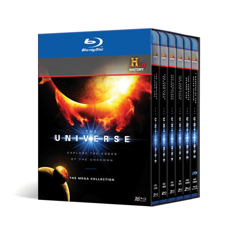 History Store | The Universe: The Mega Collection | Blu-ray
