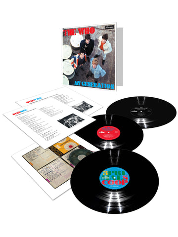The Who | My Generation: 50th Anniversary | Limited Edition 180g Vinyl 3 LP