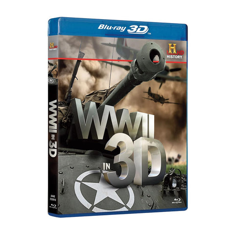 History Store | WWII in 3D | Blu-ray