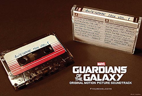 Guardians of the Galaxy | Awesome Mix: Vol 1 | Cassette Tape