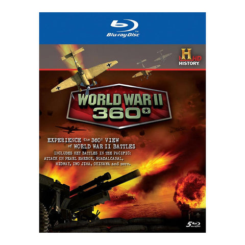 History Store | World War II: 360° | Blu-ray