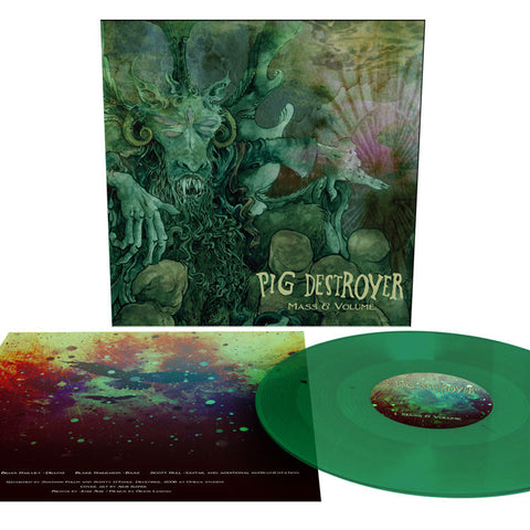 Pig Destroyer | Mass & Volume  | Forest Green 180G Vinyl EP