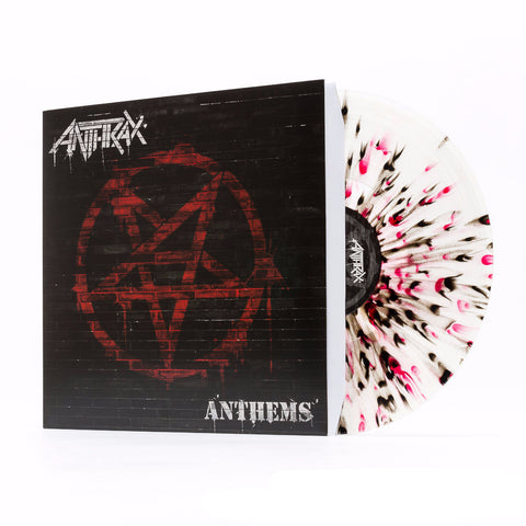 Anthrax | Anthems | Limited Edition Vinyl EP (Clear Vinyl w/ Red & Black Splatter)