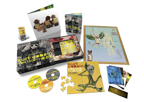 Kurt Cobain | Montage of Heck: The Home Recordings | Super Deluxe Box Set (Blu-ray/DVD/CD/Cassette)