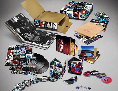 "U2 | Achtung Baby | Uber Deluxe Box Set (6 CD/4 DVD/2 LP/ 5 7"" Singles & More!)"