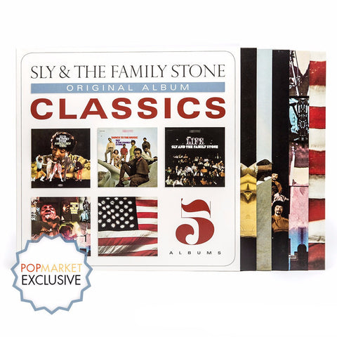 Sly & The Family Stone | Original Album Classics | 180g 5LP Vinyl Box Set