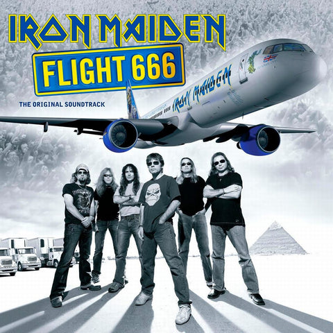 Iron Maiden | Flight 666 | Limited Edition Picture Disc 180g Vinyl 2LP [Import]