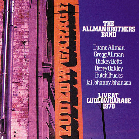 The Allman Brothers Band | Live At Ludlow Garage | 180g Vinyl 3LP