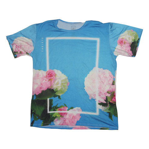 The 1975 | Allover Floral (Blue) | T-Shirt