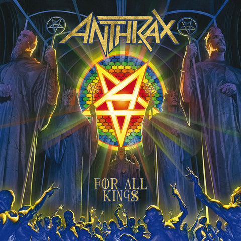 Anthrax | For All Kings | Blue Colored Vinyl 2LP