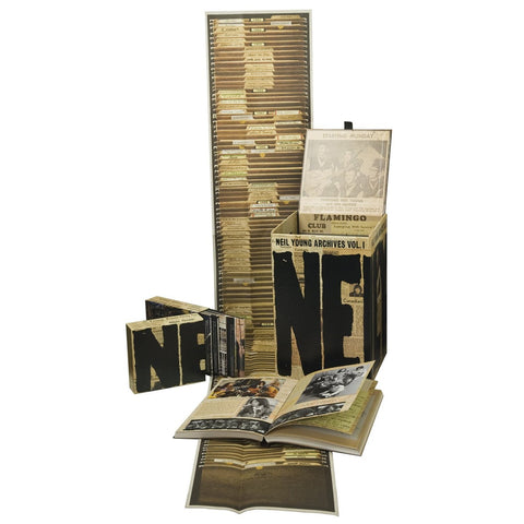 Neil Young | The Archives Vol. 1: 1963-1972 | DVD Box Set