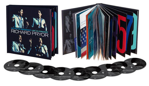 Richard Pryor | No Pryor Restraint: Life in Concert | Deluxe Box Set 7CD/2DVD