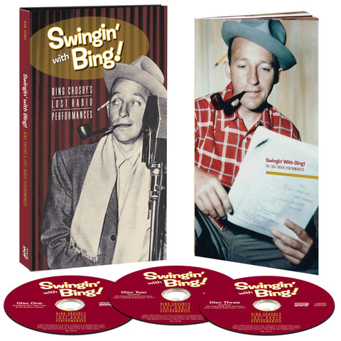 Bing Crosby | Swingin' With Bing: Bing Crosby's Lost Radio Performances | CD Set