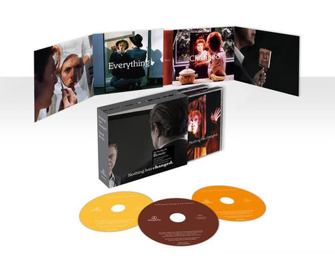David Bowie | Nothing Has Changed: The Definitive Collection (1964-2014) | Deluxe Edition 3 CD Box Set