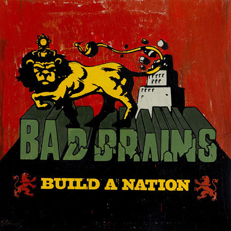 Bad Brains | Build A Nation | Limited Edition Green Vinyl LP